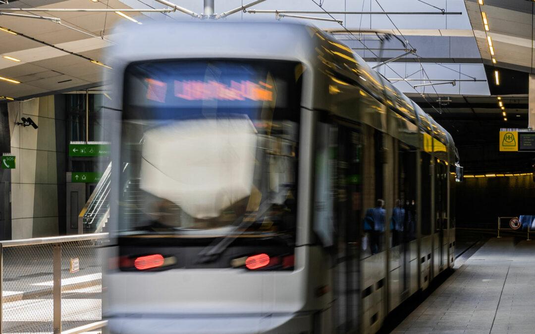 Der Ausbau des öffentlichen Verkehrs